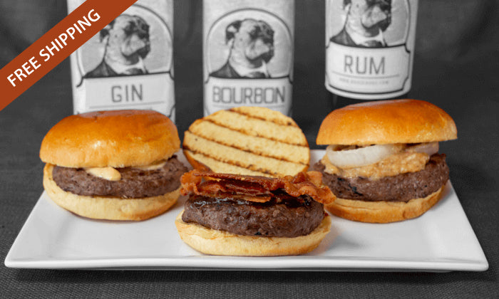 Booze Dogs - Boozy Burger Bundle