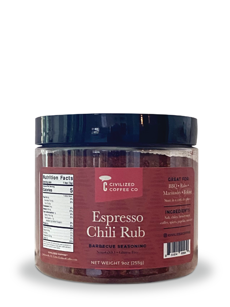 Espresso Chili Rub - Steak and Barbecue Seasoning  9oz