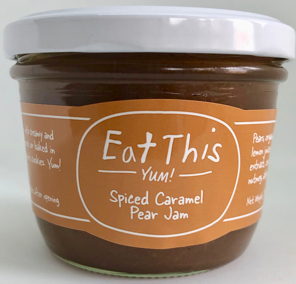 Spiced Caramel Pear Jam