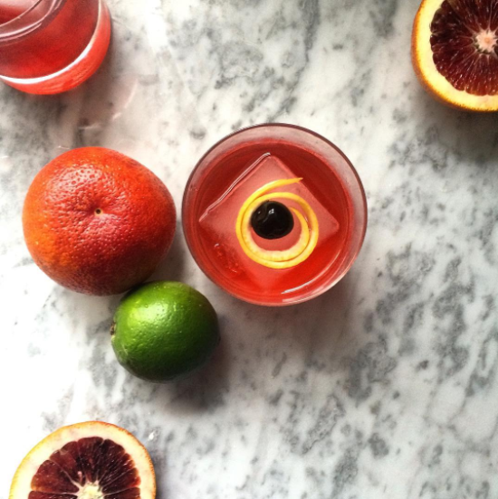 beverage cocktail mocktail orange lime