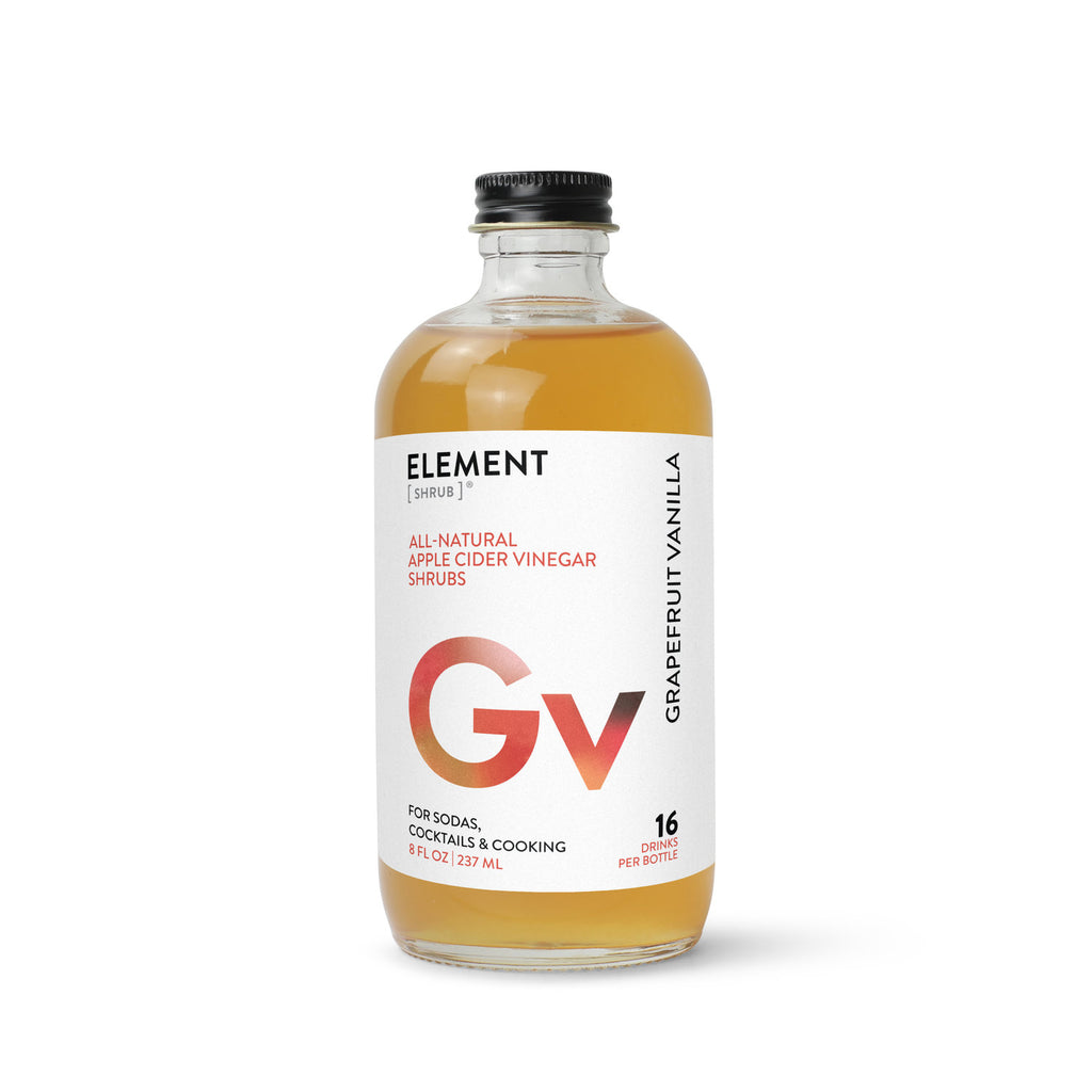 Grapefruit Vanilla Shrub  8oz