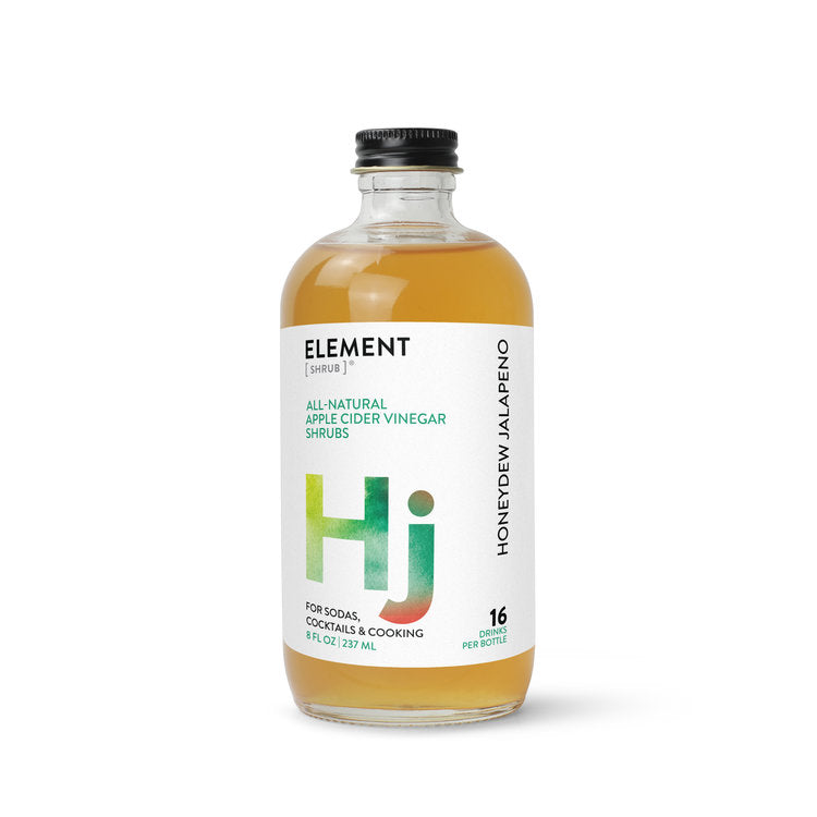 Honeydew Jalapeno Shrub  8oz