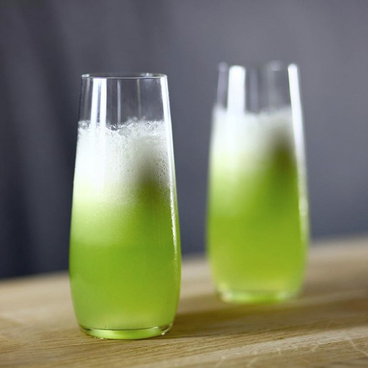 Honeydew Jalapeno Daiquiri