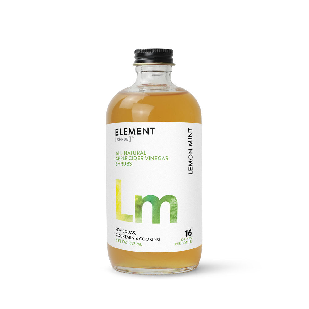Lemon Mint Shrub  8oz