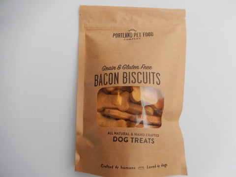 Grain and Gluten free Bacon Biscuit Dog Treats  5oz - Foodlyn - 1