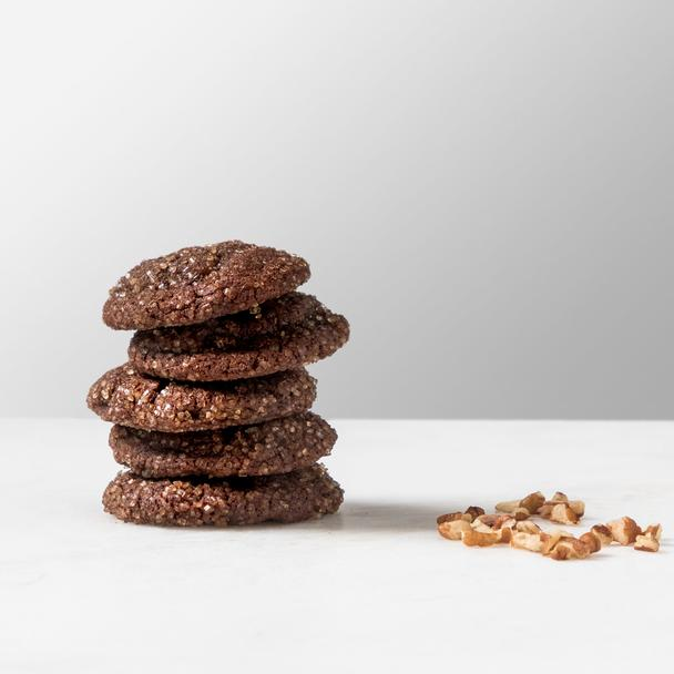 Chocolate Bourbon Cookies