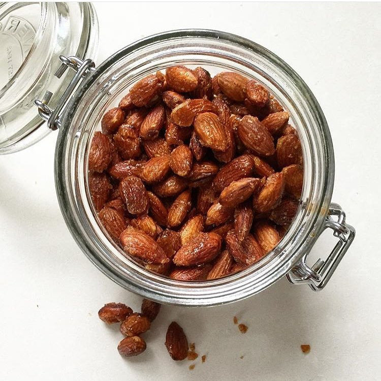 Smoked Chili Roasted Almonds