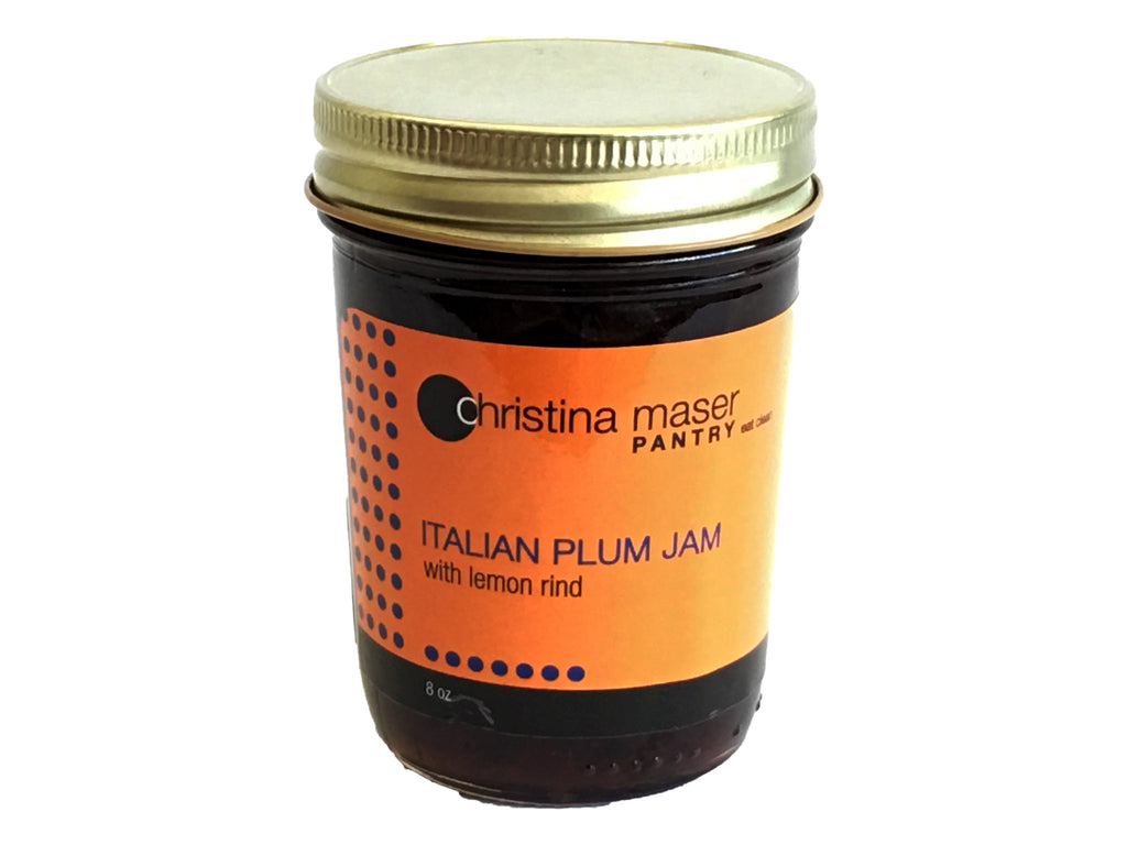 Italian Plum Jam with Lemon Rind  8oz - Foodlyn