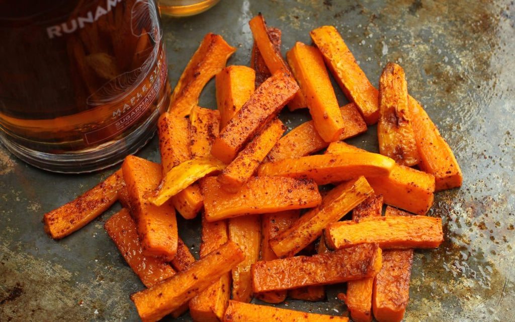 Maple Chili Squash Fries