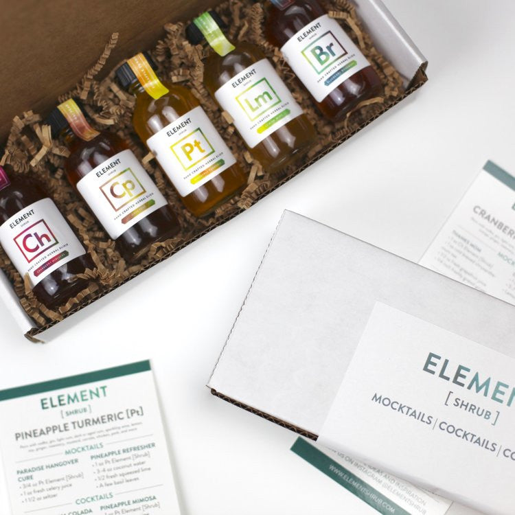 Mini Element Shrub Gift Set