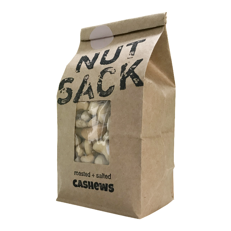 Roasted Salted Cashews Nutsack