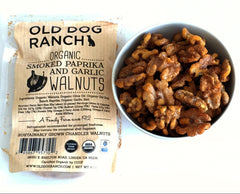 Organic Smoked Paprika and Garlic Walnuts  6oz - Foodlyn - 2