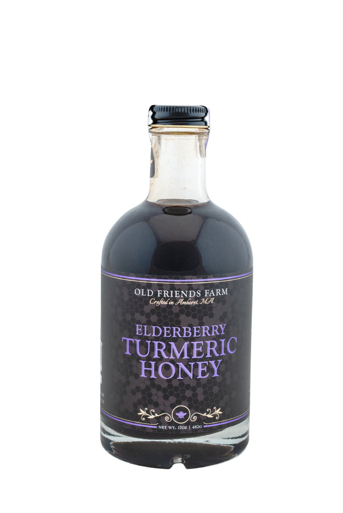 Elderberry Turmeric Honey  17oz