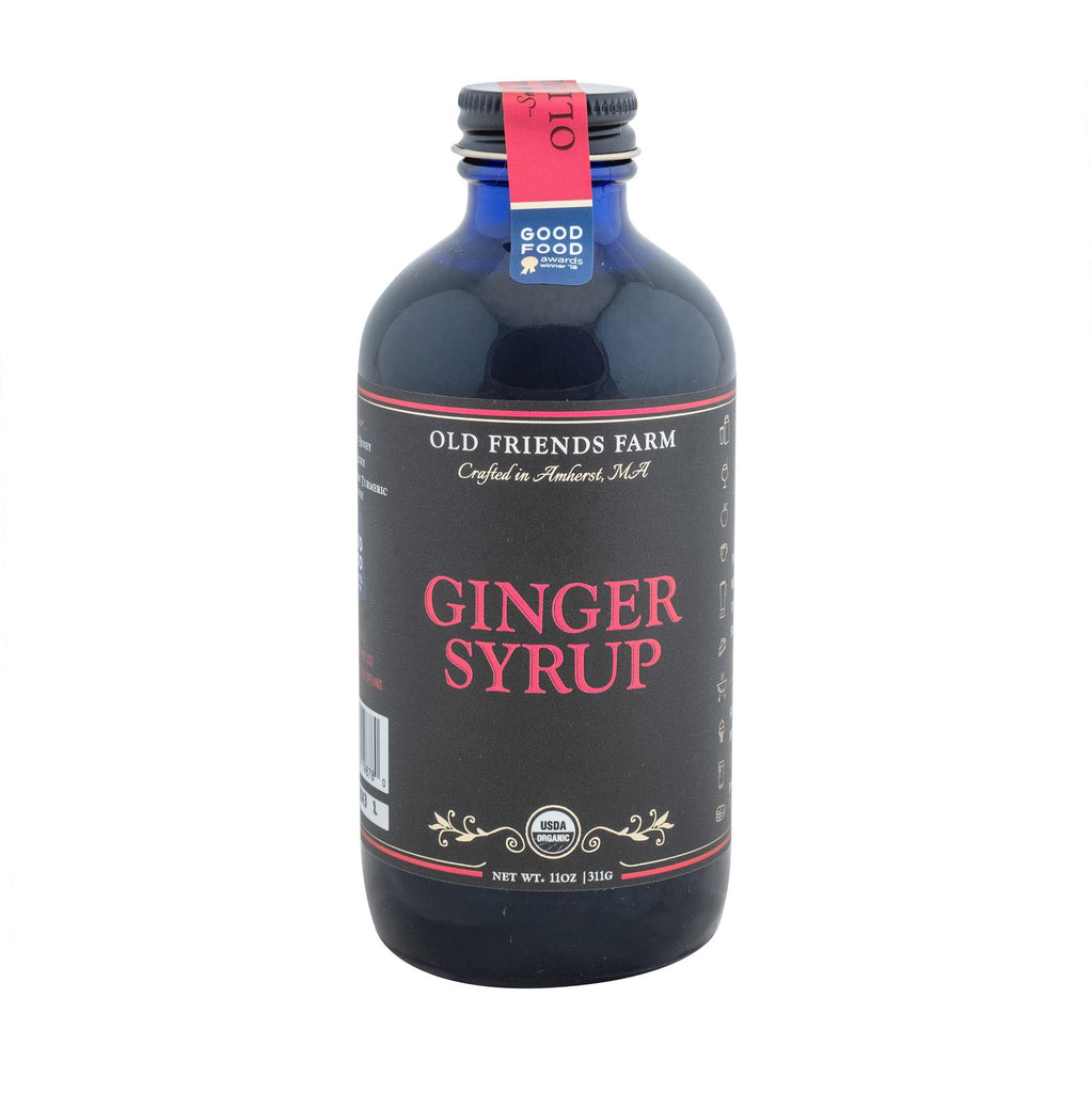Certified Organic Ginger Syrup  11oz