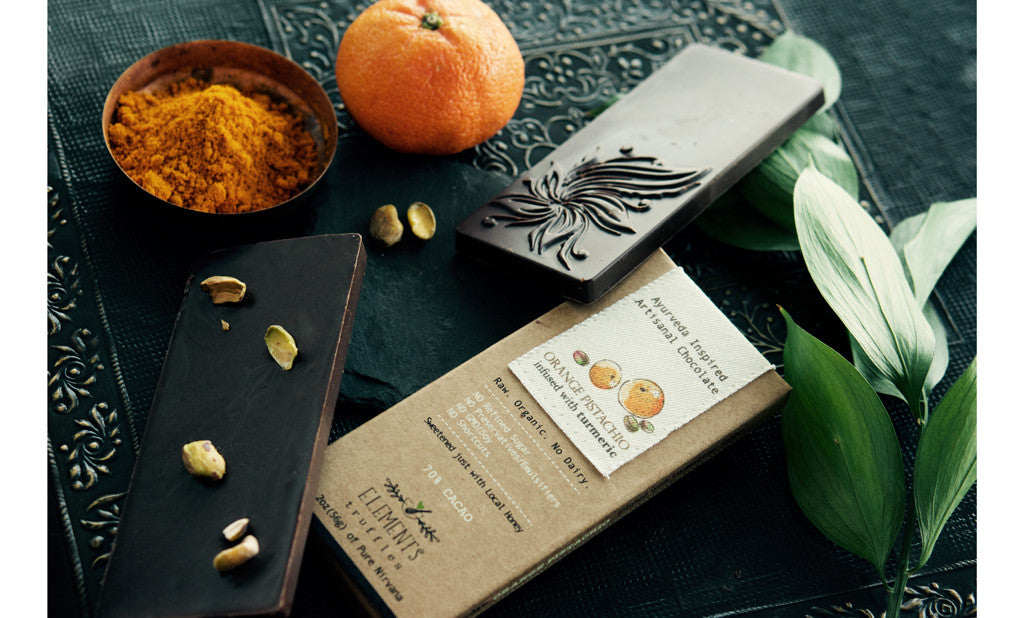 Orange Pistachio with Turmeric Infusion Bar   2oz