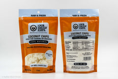 coconut chips snack baking natural