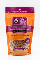 Dry Roasted Almonds  8oz