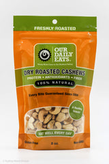Roasted Cashews  8oz