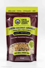 Lemon Coconut Granola  12oz