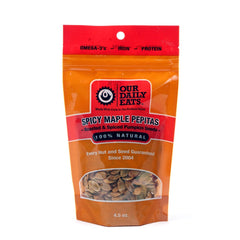 Spicy Maple Pepitas 4.5oz - Foodlyn - 1