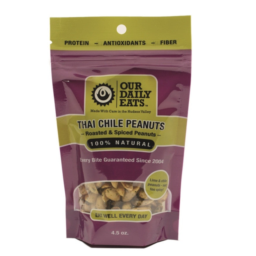 Thai Chile Peanuts 4.5oz - Foodlyn - 1