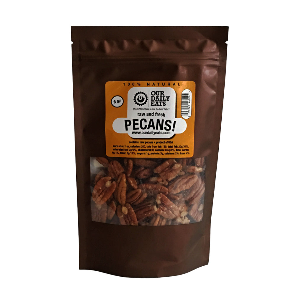 pecans pouch baking nuts snack