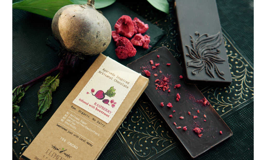 Raspberry Infused with Beetroot Bar  2oz