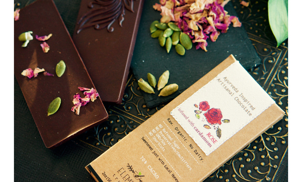 Rose with Cardamom Infusion Bar  2oz