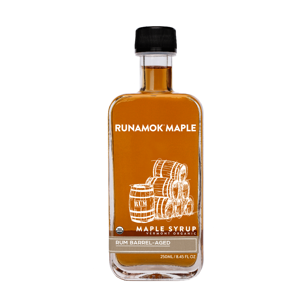Rum Barrel-Aged Maple Syrup  250ml