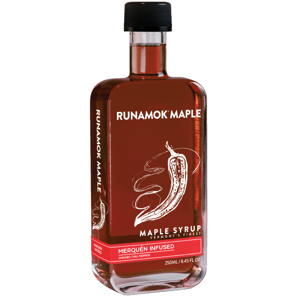 Smoke Chili Pepper Infused Maple Syrup  250ml