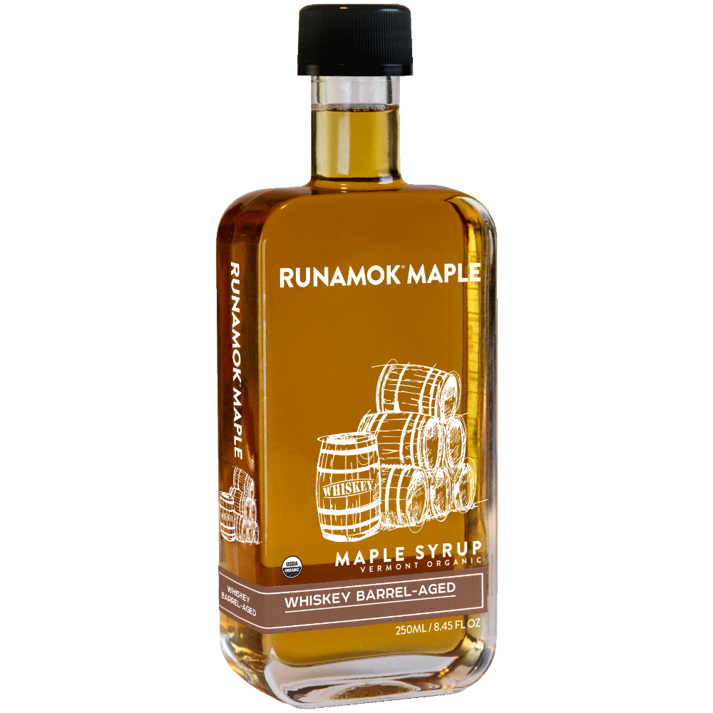 Whiskey Barrel-Aged Maple Syrup  250ml