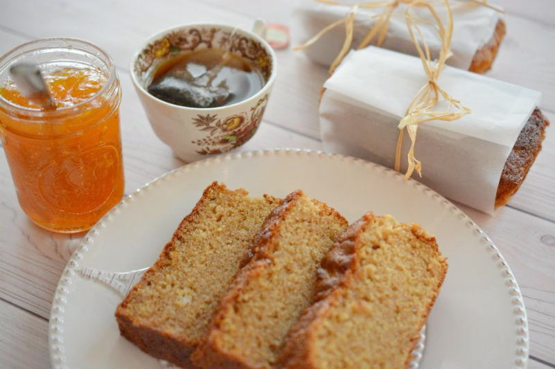 Peach Jam Bread