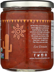 The Vine Chunky Style Spicy Salsa  16oz