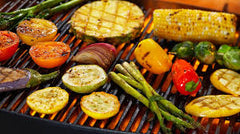 vegetables grill marinate