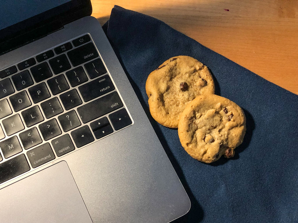laptop cookies
