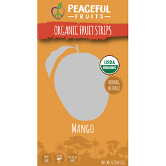 Organic Fruit Strips