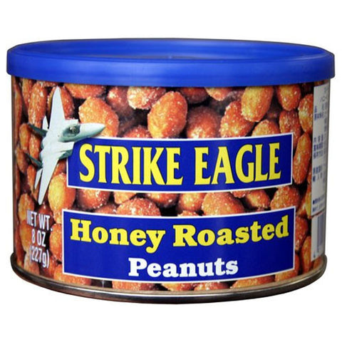 Strike Eagle Honey Roasted Peanuts 227g