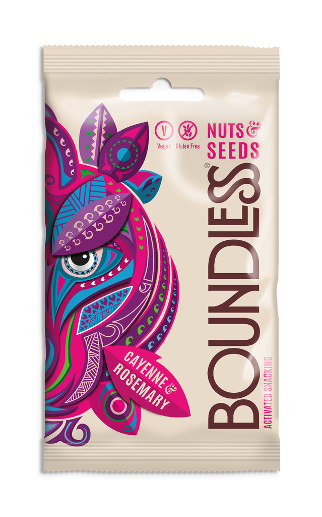 Boundless - Cayenne Rosemary activated nuts and seeds