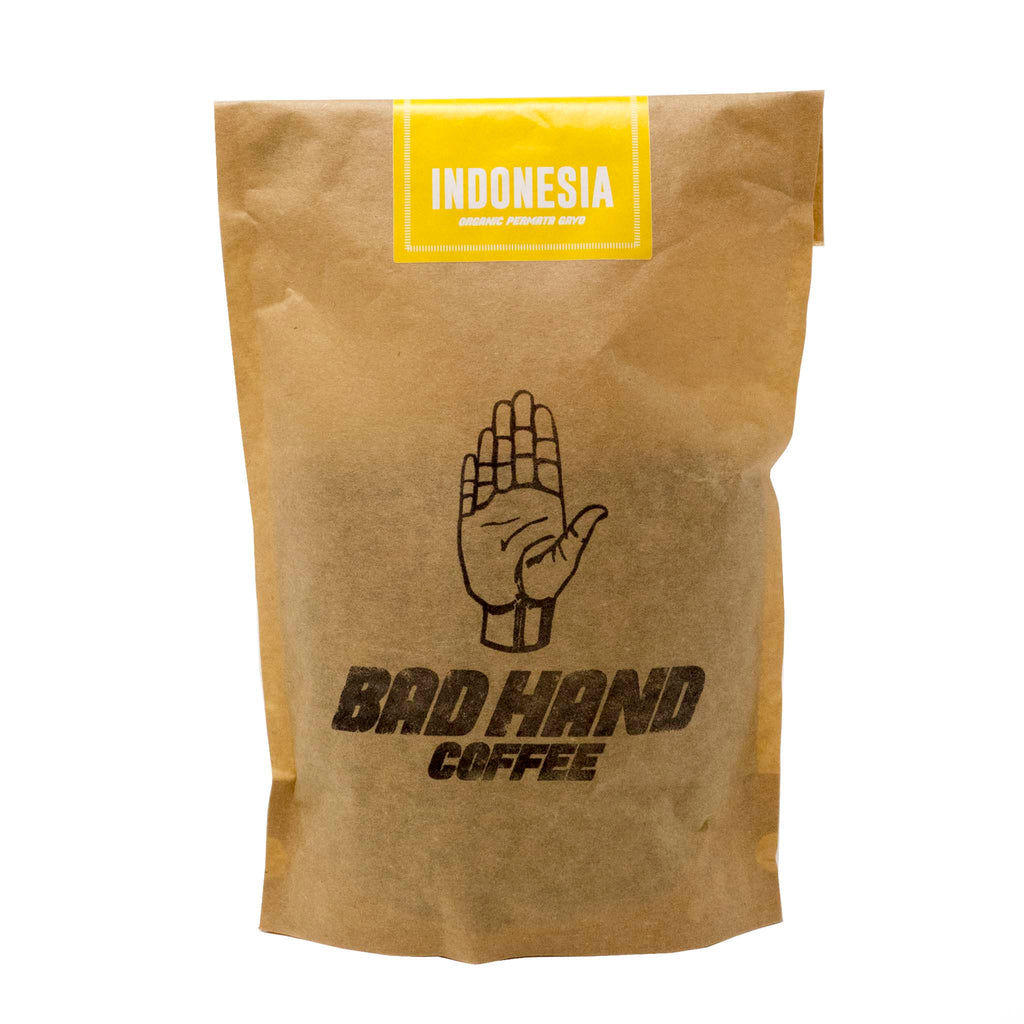 Bad Hand Coffee - Indonesia Single Origin