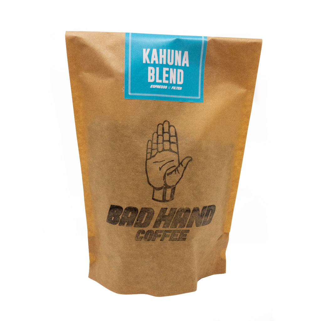 Bad Hand Coffee - Kahuna Blend