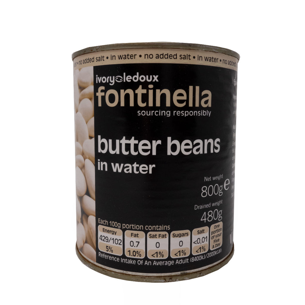 Essential Range - Tinned Butter Beans 800g