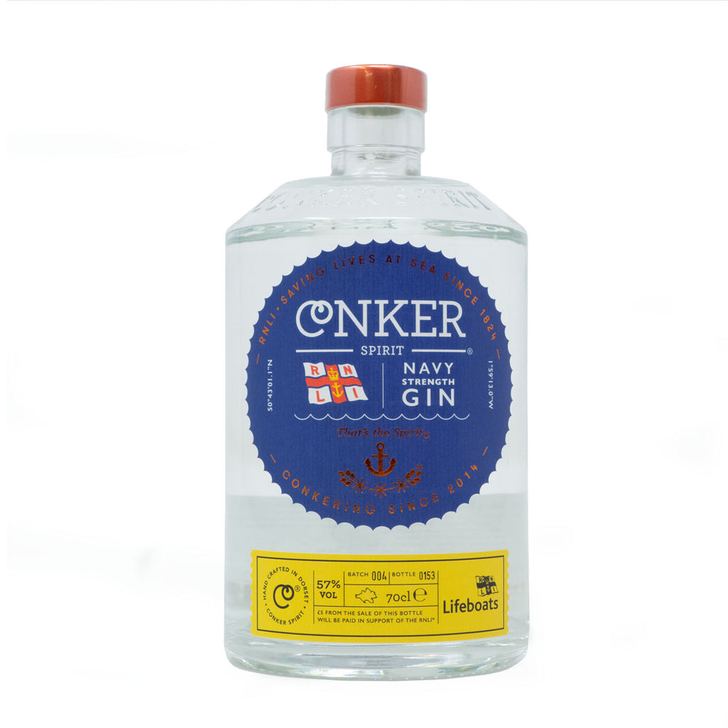 Conker Spirits - RNLI Navy strength gin