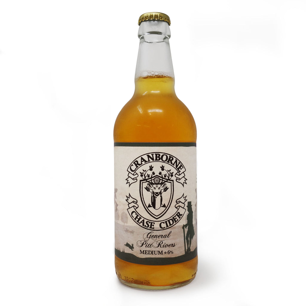 Cranborne Chase Cider - General Pitt Rivers 500ml Bottle