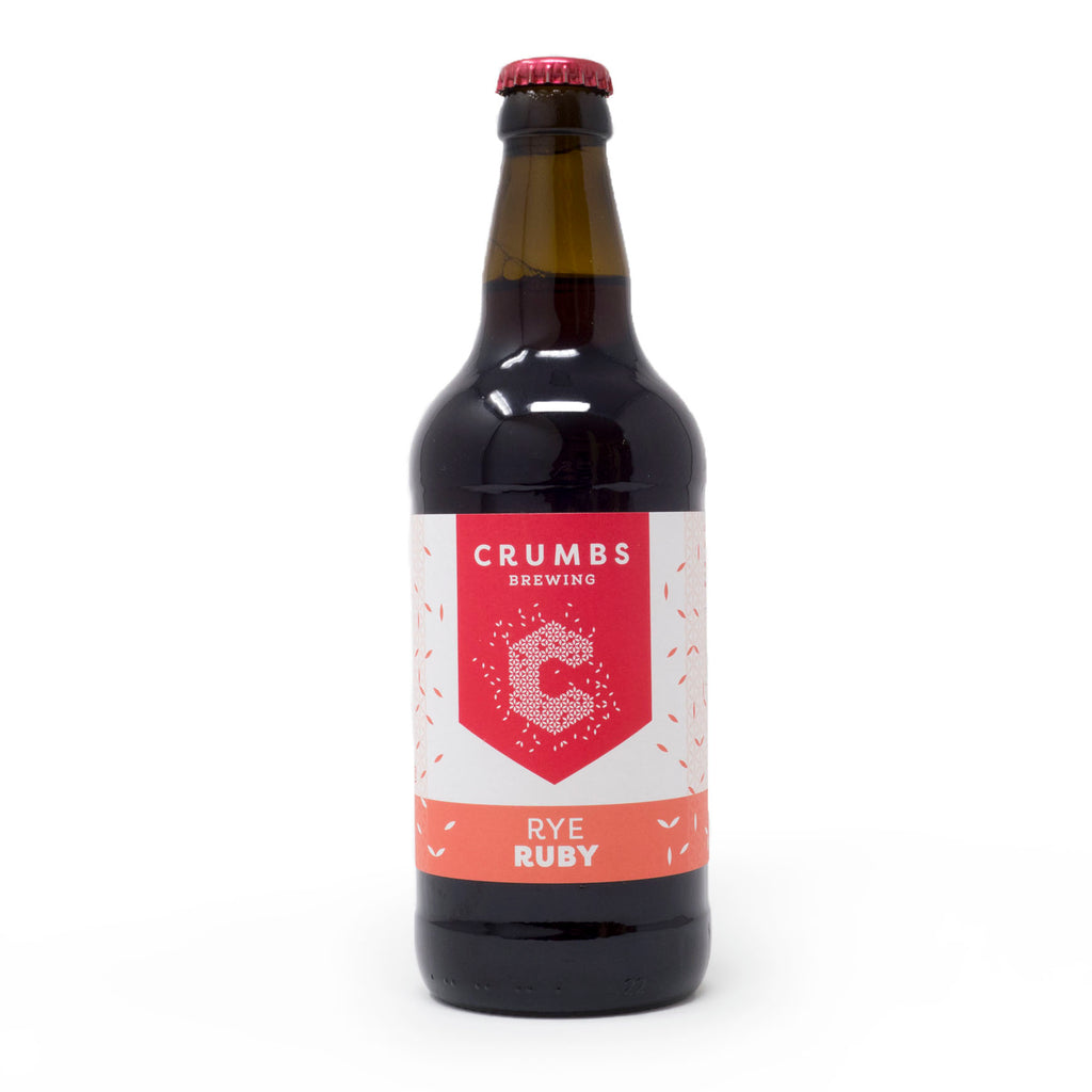 Crumbs - Rye Ruby Ale 500ml Bottle