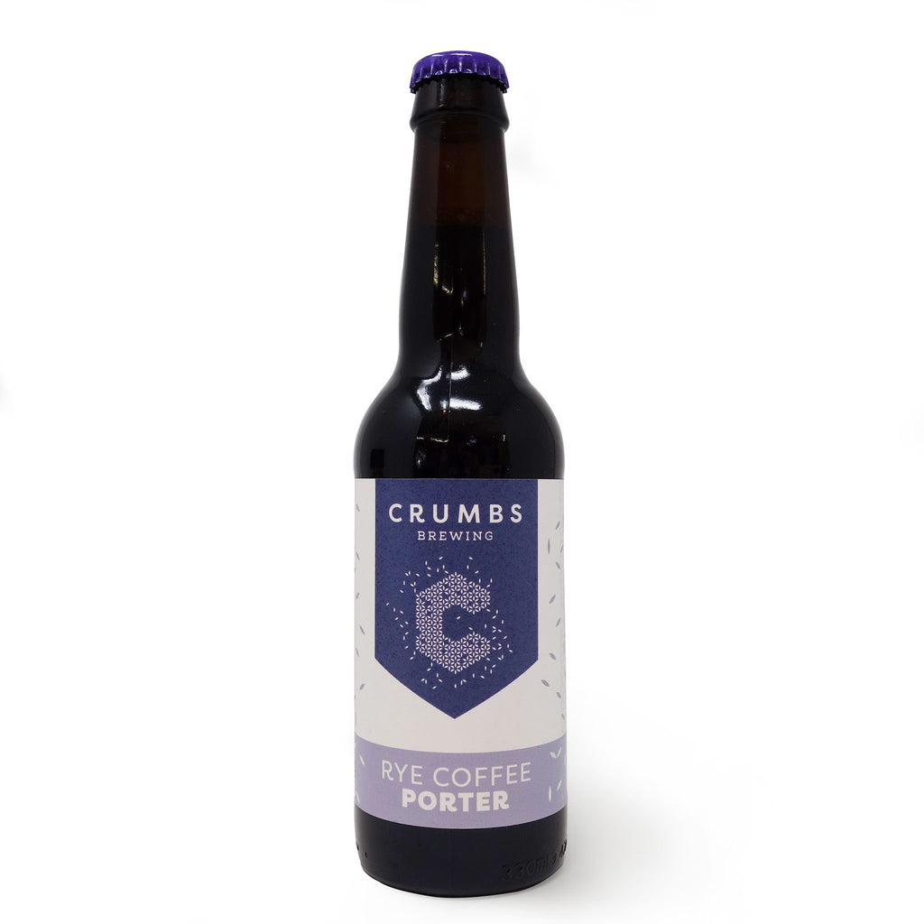 Crumbs - Rye Coffee Porter 330ml Bottle