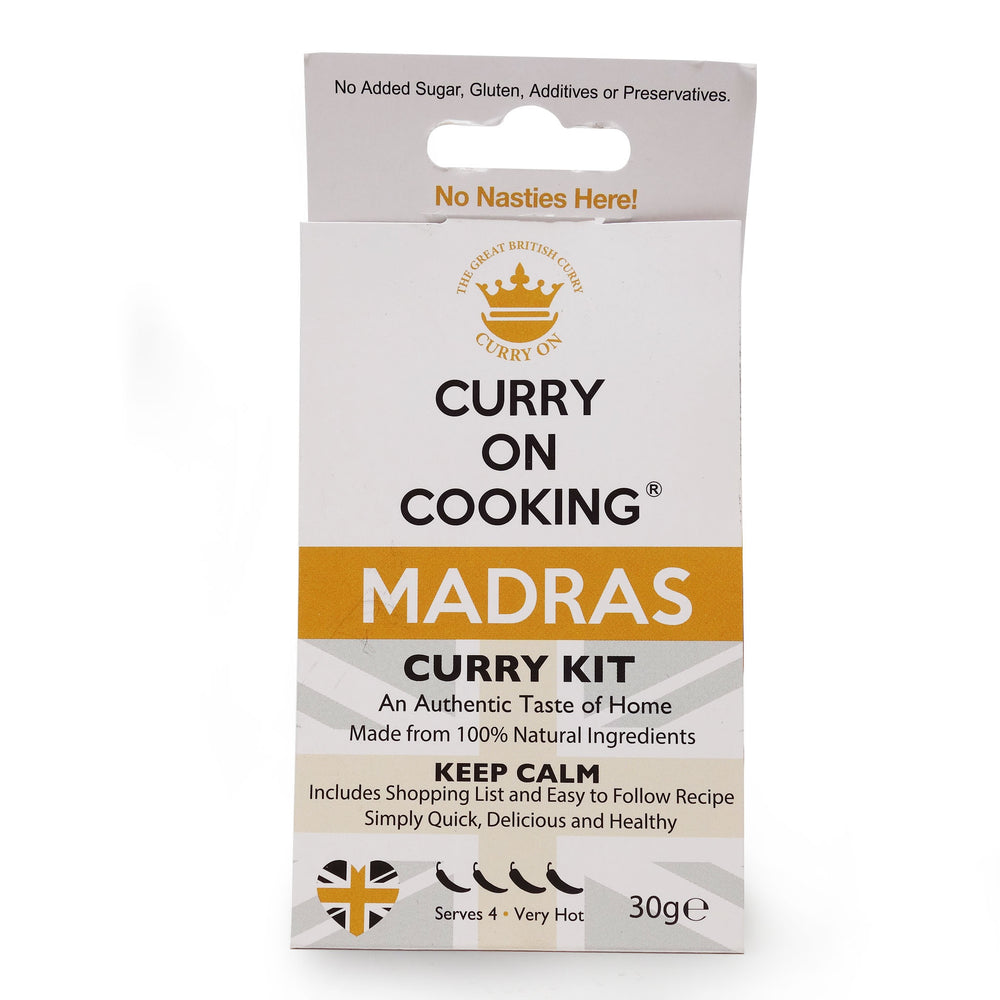 Curry on Cooking - Madras Kit