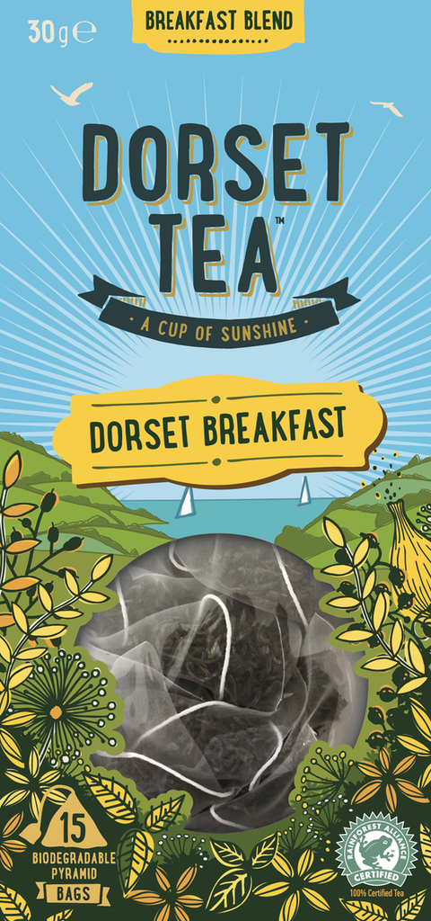 Dorset Tea - Dorset Breakfast 15 pyramid