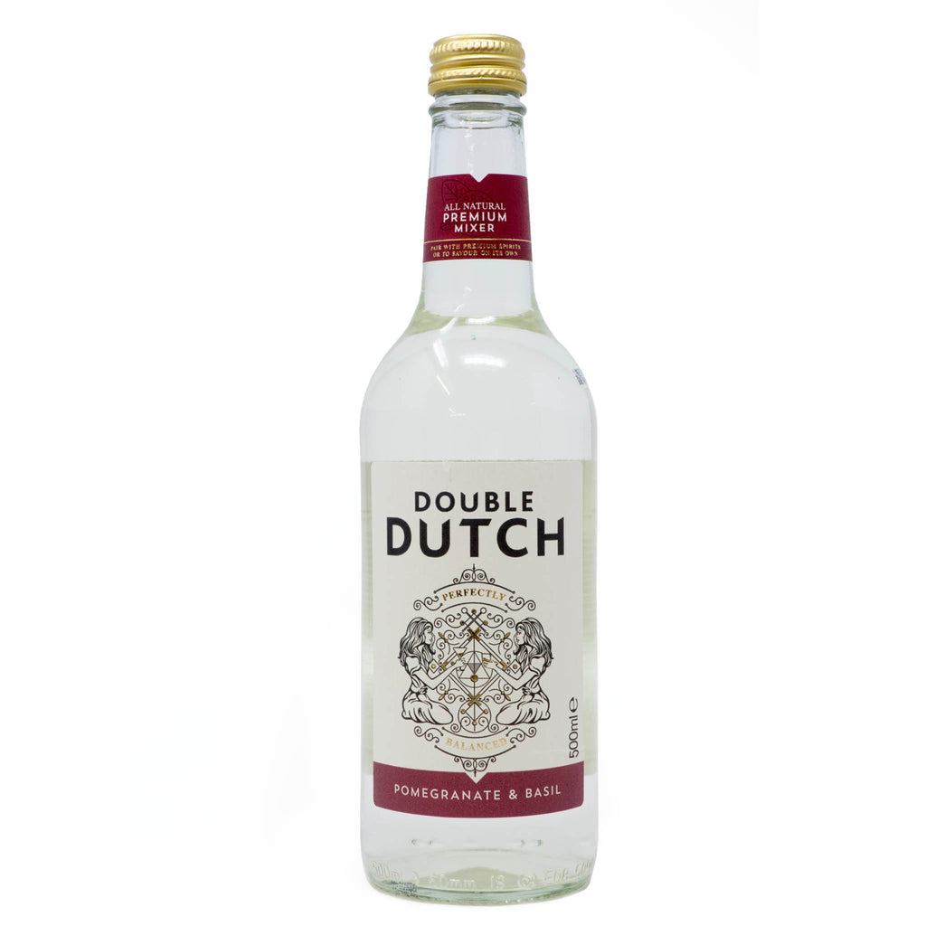 Double Dutch - Pomegranate & Basil 500ml