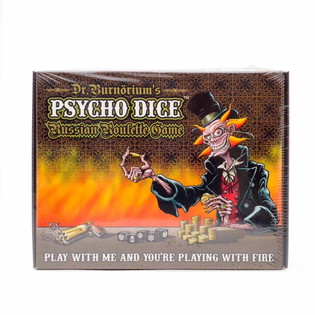 Dr Burnorium's - Psycho Dice Russian Roulette Game