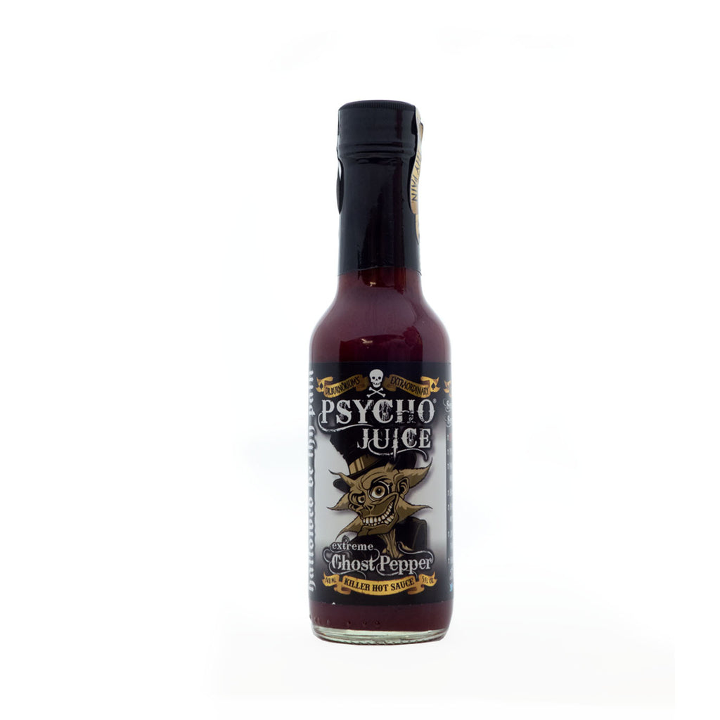 Dr Burnorium's - Psycho Juice Extreme Ghost Pepper